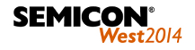 Logo Semicon West 2014 introduction